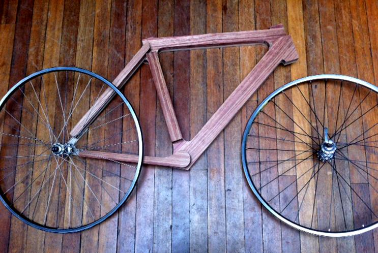 post 7_jake stevenson bike - Wooden Bike Frame