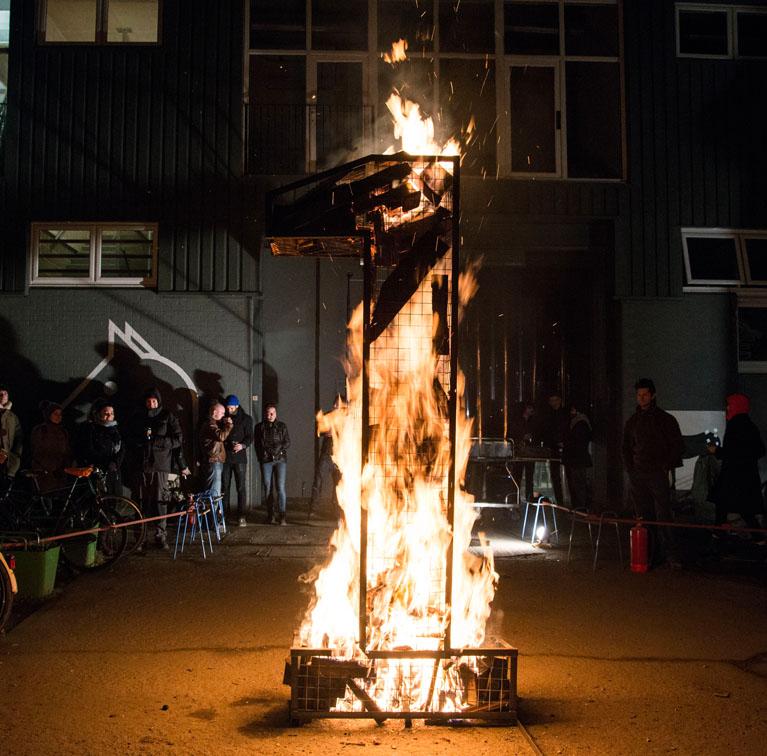 Burning Candle 02
