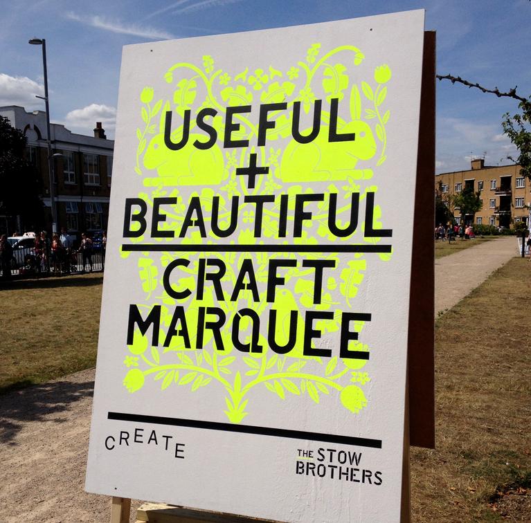 POST_Useful & Beautiful signage