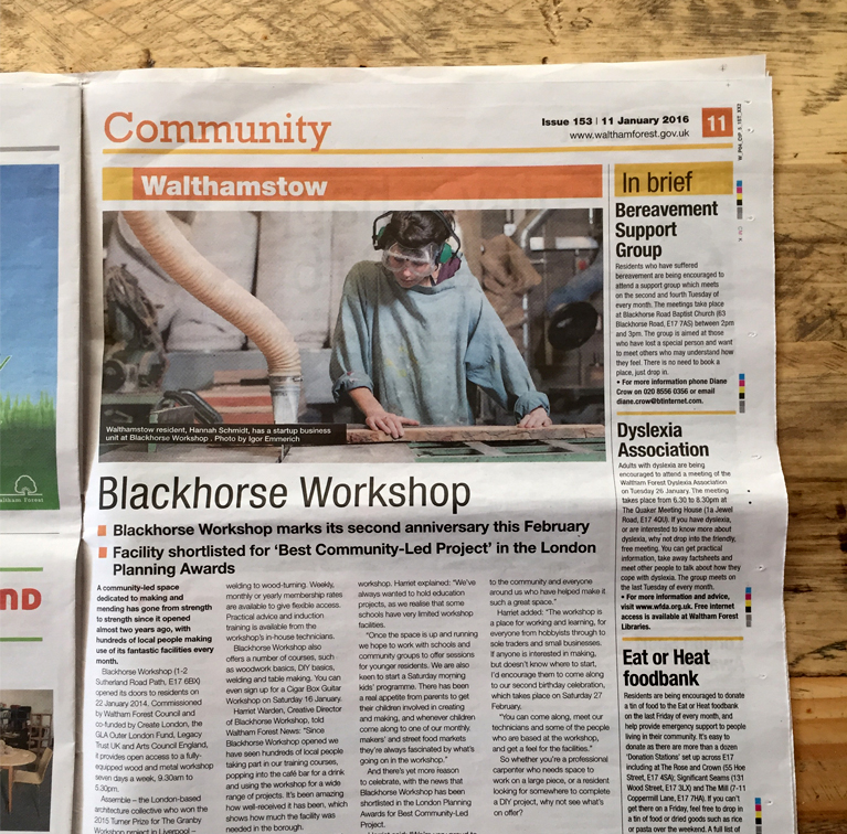 WF News_Blackhorse Workshop