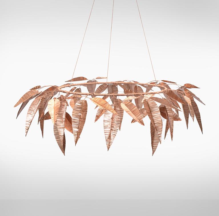 Leaves Sculpture 3